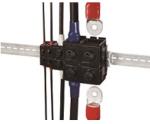 EF2-Serie, Single-Action-Lock, In Line Steckverbinder für Stromversorgungen