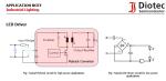 Diotec erweitert Produktportfolio um MOSFETs und lineare Spannungsregler